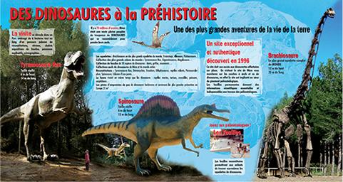 accès musée dinosaure mèze