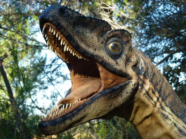 dinosaure reptile coureur
