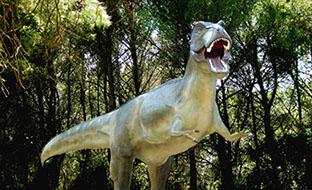 reconstitutions parc dinosaures